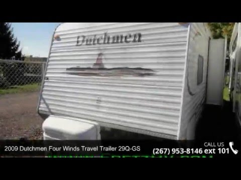 Used 2009 dutchmen four winds travel trailer 29q-gs for sale fretz rv classified ads camper trader