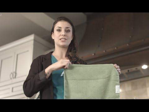 1 weird fabric replaces all paper towels
