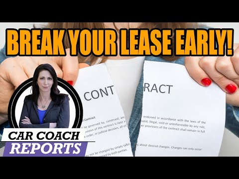 How to get out of a car lease early - explained