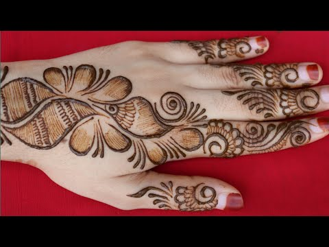 Easy and beautiful mehndi designs for eid    new latest mehndi design simple    mehndi designs