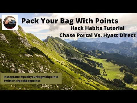 Redeeming chase points: transfer to hyatt or book through chase portal?
