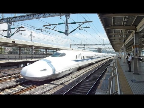 How fast is a bullet train? (新幹線)
