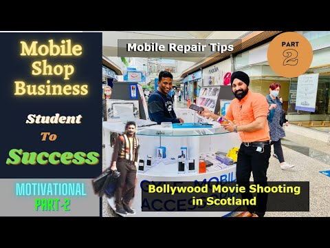 Student life in uk as mobile technician | mobile repairing jobs in uk | study in scotland | part2