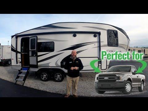 Cougar 23mls - the perfect fifth wheel for a half-ton truck!