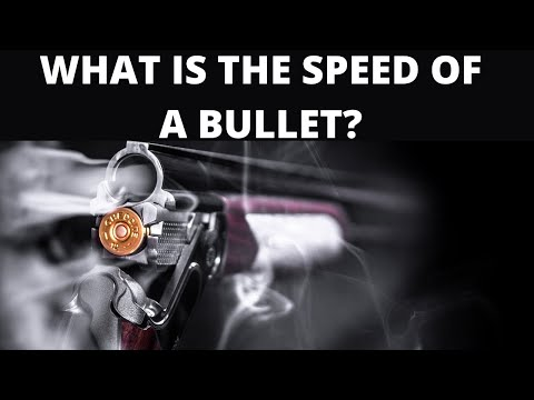 How do bullets travel with incredible speed?