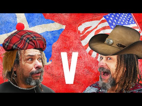 Why scottish and american people see history differently?