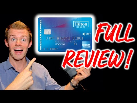 Hilton honors american express card review! (no annual fee travel cards)