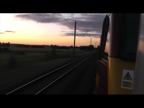 First scotrail caledonian sleeper   ecml diversion to london!