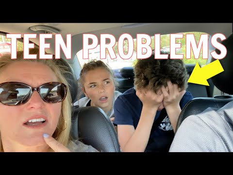 Teen problems *learning how to handle stress*