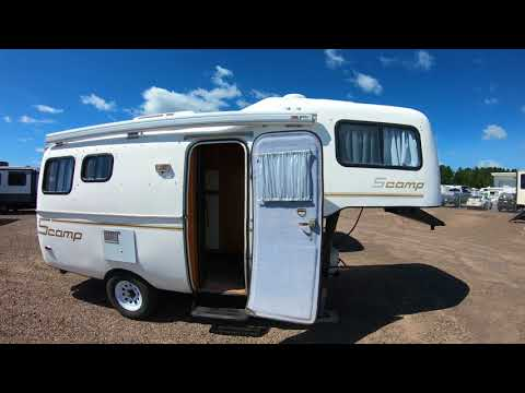 2000 scamp deluxe 19' fifth wheel only 3,000 pounds!