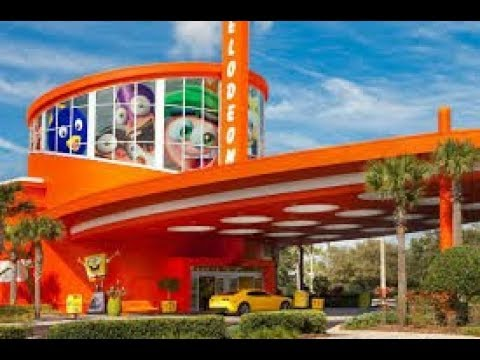 The new look of the old nickelodeon hotel in orlando