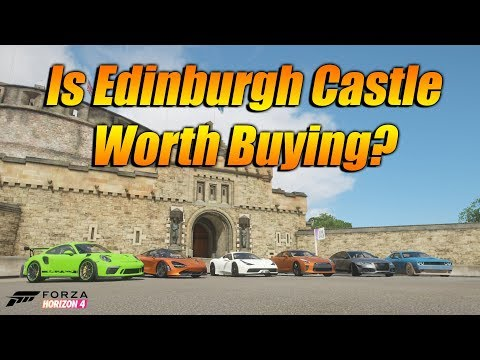 Forza horizon 4 buying the most expensive house ever! is edinburgh castle worth buying?