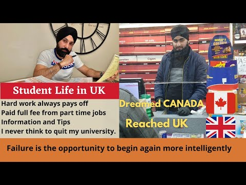 Part 1 student life in uk | dont leave | part time jobs in uk | study in scotland| study in uk
