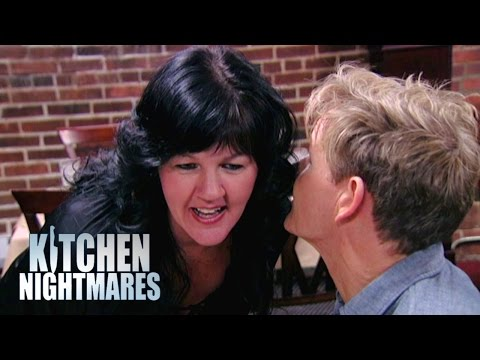 Bemused owner doesn't understand what 'soup of the day' means - kitchen nightmares