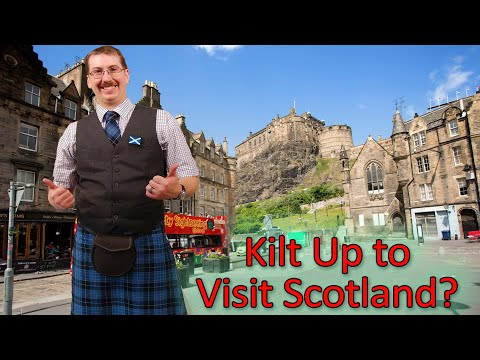 Do you wear the kilt daily when visiting scotland? are only tourists kilted in scotland?