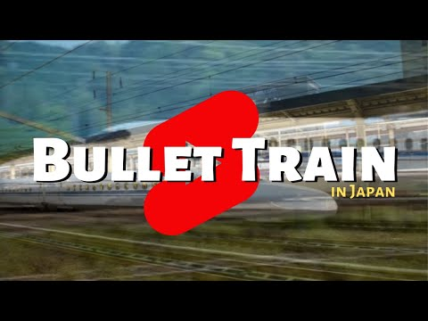 How fast does a bullet train go? #shorts with chris blair