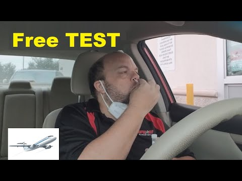 How where get free covid-19 test for us citizens (cvs walgreens drive thru travel fly abroad country
