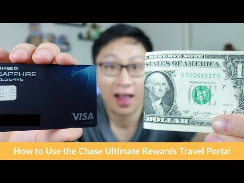 How to use chase sapphire reserve points on travel portal
