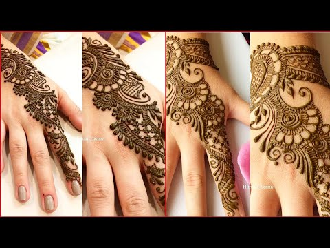 Arabic mehndi design images collection (2019) - simple and stylish mehndi designs