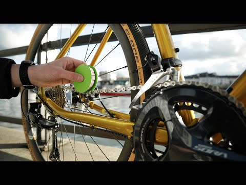 Green disc the cleanest chain care ever.