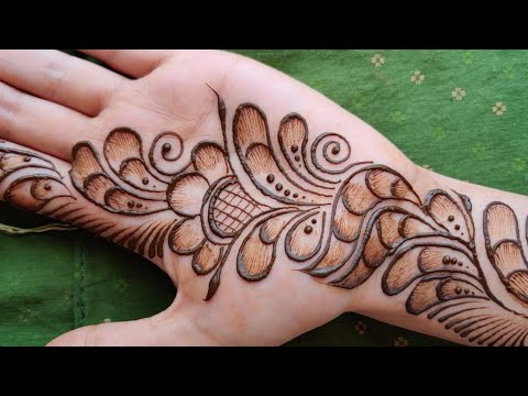 Shaded mehndi designs easy and beautiful || new trend mehndi designs | best mehndi designs for hands