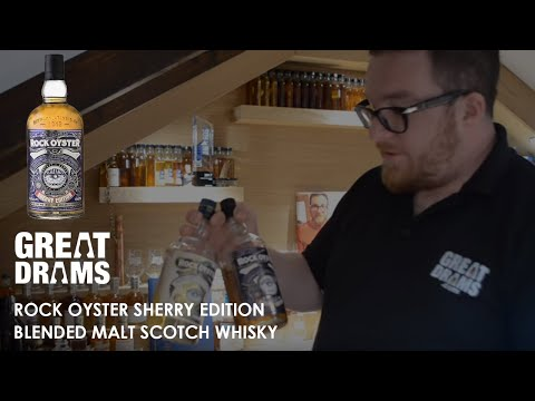Whisky tastings / review: rock oyster sherry edition blended malt scotch whisky video review