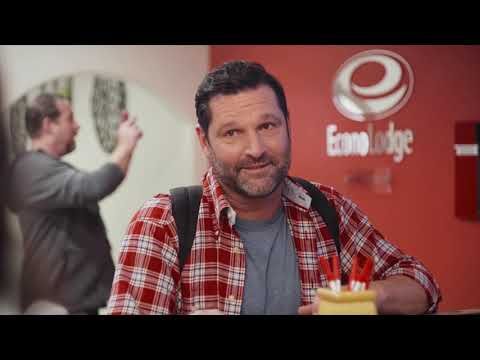 Econo lodge: easy stop on the road