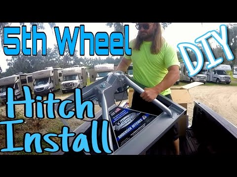 5th wheel hitch install - diy   andersen ultimate fifth wheel connection   rv full time