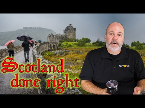 What is the best way to tour scotland?